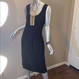 Covington Black Midi Dress
